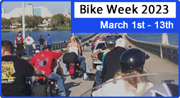 Book Biker Campground Sites for Bike Week Daytona Beach